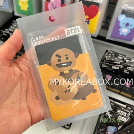 the latest f4281 6017e CLEAR CARD CASE - SHOOKY